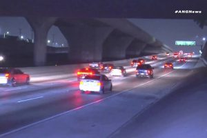 Multiple Car Crashes: Drivers Attempt To Dodge A Disabled Vehicle Stranded In The Middle Of A Dark Highway 11