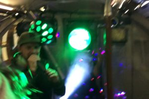 Man Finds Himself In The Middle Of A Full-Blown Rave On His Commute Home 12