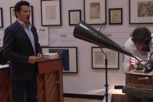 Singers From the Metropolitan Opera Record Their Powerful Voices Onto Rotating Wax Cylinders 10