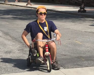 Georgia Tech Students Build an Awesome Chainsaw Powered Tricycle and Cruise Around Campus 9