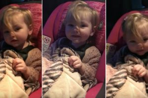 Toddler Wakes Up To Rock Out To Her Favorite Song 10