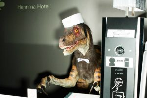 British Expatriate Spends a Night at The Henn-na Hotel in Tokyo That is Staffed by Robots 9