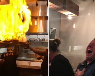 Who Would Have Thought?: Flaming Cheese Sets Off Fire Sprinkler At Greek Restaurant 1