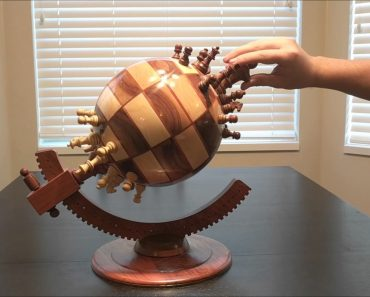 Playing Chess On A Beautiful Spherical And Magnetized Chessboard 6