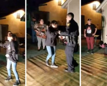 Cop Shows Up For Noise Complaint, Dances Instead 1