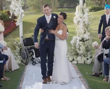 Groom Miraculously Walks Down Aisle After Being Paralyzed 1