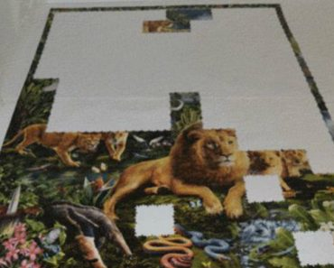One Of The Largest Jigsaw Puzzles In The World Made Harder As Video Game Stop Motion 8