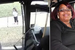 Bus Driver Spots Lost 5-Year-Old Girl And Pulls Over To Help 10
