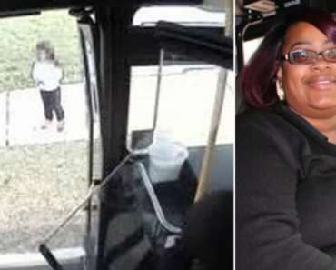 Bus Driver Spots Lost 5-Year-Old Girl And Pulls Over To Help 1