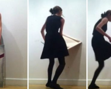 Art Student Freak Out And Smashes Painting After Classmates Critique Her Work 2