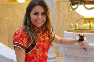 Teen Accused of Appropriating Chinese Culture With Her Prom Dress 11