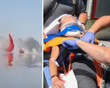Skydiver Survives After Plunging Into Lake 5