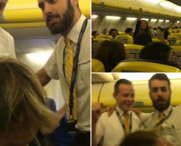 Mid-Air Drama On Ryanair Flight Ends In Accordion Sing-Song 1