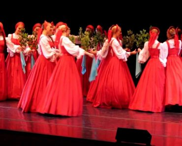 The Performers In This Russian Dance Appear To Float. At 30 seconds In It Becomes Otherworldly 5