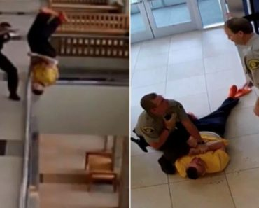 Handcuffed Man Injured After Jumping Off Courthouse Balcony 2