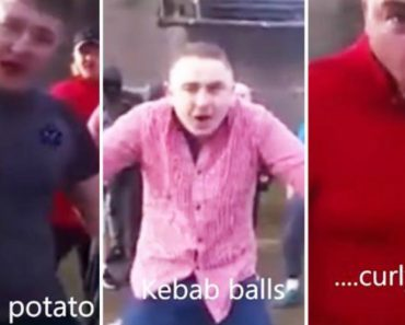 Prankster Hilariously 'Translates' Insults From A Group Of Furious Irish Men Challenging Someone To A Fight 2
