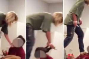 Teacher Retires After Standing On A Sleeping Student's Desk To Hit And Pull His Hair 10