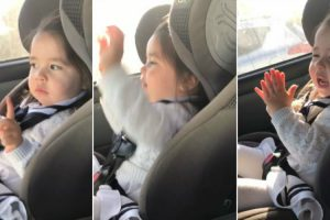Little Girl Busts Hilariously Cute Dance Moves To Her Favorite Song 11