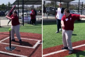Boy With Down Syndrome Does 'Backpack Kid' Dance After Hitting Home Run in NY 10
