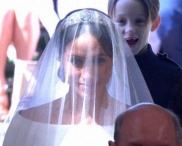 The Kid Who 'Photobombed' The Royal Wedding 8