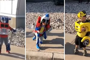 These Kids' Transformers Costumes Are Incredible 11