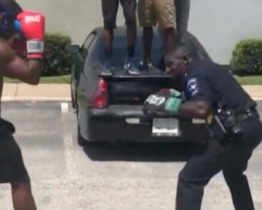 Cop Agrees To Boxing Match In The Hood 3