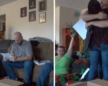 Deaf Step-Dad Surprised With Adoption Papers 2