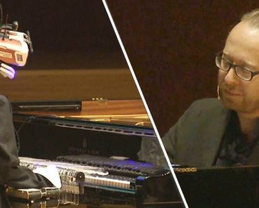 Robot and Human Pianists Face Off in Musical Duel 5