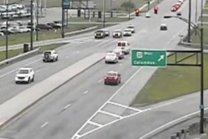 Traffic Cam Shows Car Driving Backwards For Over A Mile 12