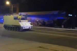 Soldier Steals Armored Vehicle, Takes It On Two-Hour Ride 11