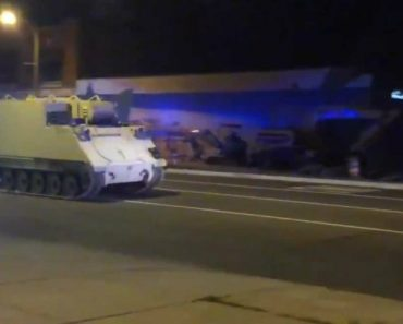 Soldier Steals Armored Vehicle, Takes It On Two-Hour Ride 6