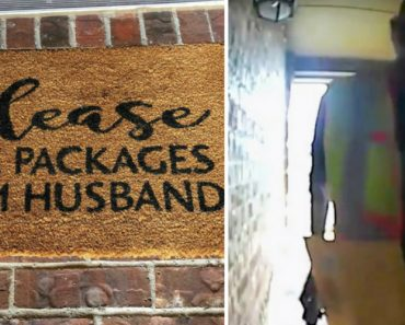 """""""Please Hide Packages From Husband"""": Delivery Man Takes Wife's Sarcastic Doormat A Little Too Seriously 4"""