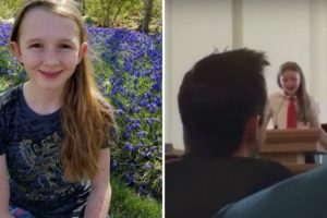 Footage Shows Young Girl Coming Out as Gay in Front of Entire Church 11