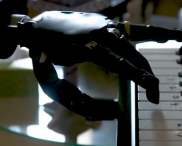 Man With An Advanced Thought-Controlled Robotic Arm Learns How To Play The Piano 5