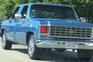 A Chevy Pickup Truck With Two Front Ends Perplexes Passing Driver 10