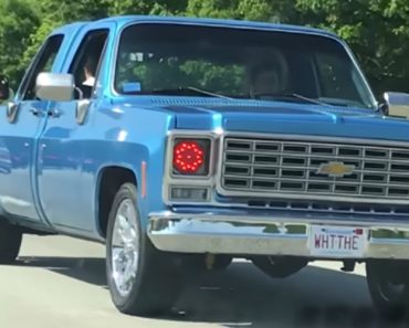 A Chevy Pickup Truck With Two Front Ends Perplexes Passing Driver 8