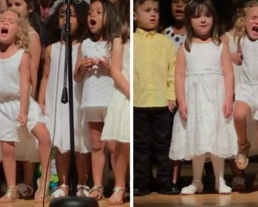 "This Little Girl Going All Out In a ""Moana"" School Singalong Is The Spirit Animal We All Need 3"
