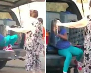 Woman Caught Transporting Children In Dog Kennels 9