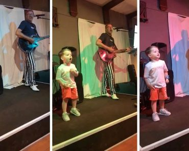 Cute Toddler Jumps On Stage And Steals The Show 2