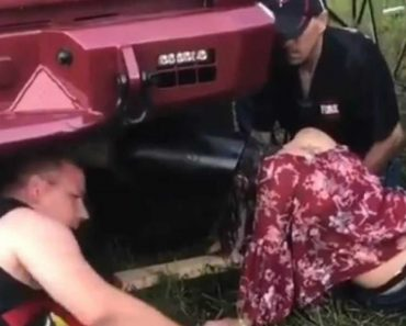 Woman Gets Head Stuck In Tailpipe At Music Festival 1