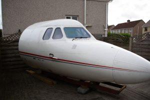 Man Has Famous Plane Cockpit In Garden 11