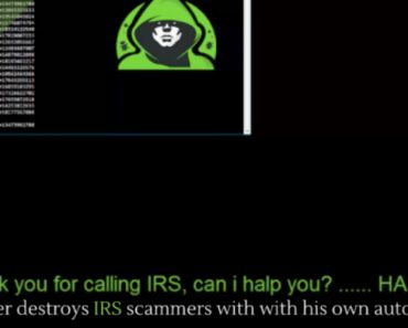 Guy Gets Revenge On a IRS Phone Scamming Company By Making a Call Flooder 1