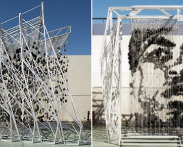 Amazing Muhammad Ali Sculpture Made Out Of Punching Bags 9