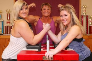 Never Challenge This Family To An Arm-Wrestling Contest 10