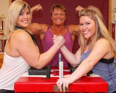 Never Challenge This Family To An Arm-Wrestling Contest 7