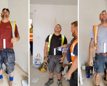 Plumbers Play Elaborate Prank On Apprentice 8