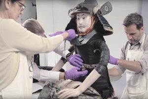 A 130-Year-Old Samurai Armor Get Restored To a Pristine And Fearsome State 11