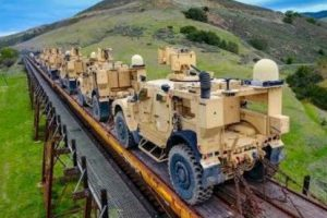 Drone Follows U.S. Military Train And Gives A Sneak Peak Into Our Weaponry 12