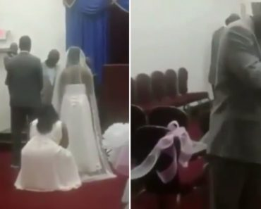 Angry Father Interrupts His Daughter's Wedding Because He Thinks The Groom Is An Illegal Immigrant 8