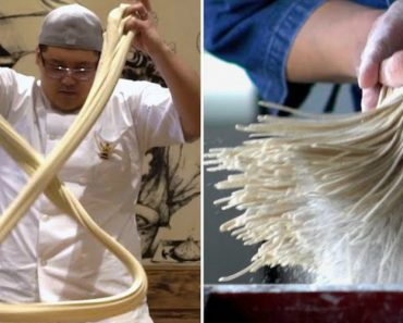 Two Talented Chefs Demonstrate The Beautiful Art Of Preparing Different Styles Of Handmade Noodles 7